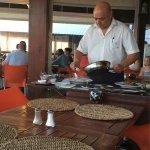 Flambe chef Nenuco at work