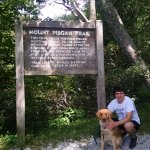 Mount Pisgah trail head