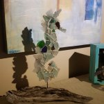 Sea Horse by local artist - Love It!