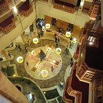 Lobby Bar Innenhof Hotel