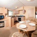 Gold caravan lounge/diner