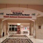 Billiards halls Entrance