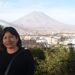 El Misti..magnifica vista desde el mirador de Yanahuara.