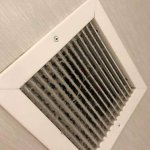 Vent in the bathroom