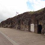 Vue extérieure du fort de Vaux.