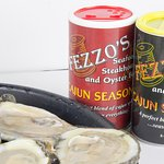 Oysters on the Half shell with Fezzo's Cajun Seasonings