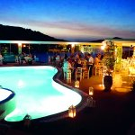 Our pool bar and restaurant.
