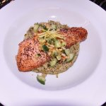 Special Salmon Dinner Cooked by our Executive Chef