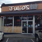 Julio's front door