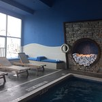 Standard 2 queen room & outdoor pool and falls view on 7th floor. Spa & indoor pool on 14th floo