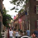 Elfret's Alley in Phildelphia
