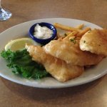 3-piece fish and chips (halibut)