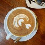 Mocca con arte Latte