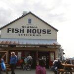 Fantastic fish and chips at Alaska Fish House