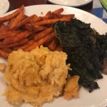 grits, and sweet potatoes are great, greens a but too salty and sweet for my taste