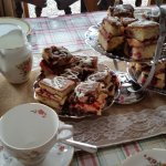 One of our party offers: We do vintage tea parties too at The Loft.