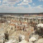 Coal Mine Canyon Foto