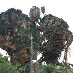 Upside down hills in Pandora Avatar Land