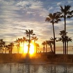 View the beautiful sunrise from your balcony or pool deck.