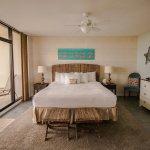 Room 407, a deluxe 1 bedroom.