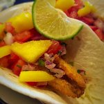 Perch tacos in the Terrace Room