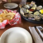 Oysters & French Fries for Lunch
