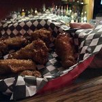 These were the delicious Thai wings on Wednesday nite special Wing nite 10 wings for $6.00.