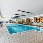 Splash around in our heated indoor pool