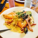 Seafood medley and linguine !