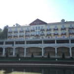 Back of the Hotel from the Bavarian Belle river cruise