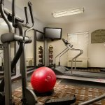 Work out in our 24-Hour Fitness Center