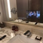 TV Built in the mirror