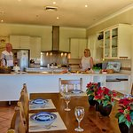 Country House Kitchen and Family Room