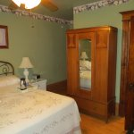a lovely charming old-fashioned suite with modern amenities.