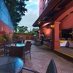 Courtyard Santo Domingo Foto