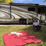 Peaceful stay at Blue Mountain RV Park