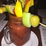 Great breakfast drink, a real vacation treat!