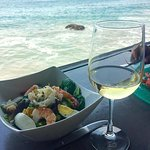 The Dungeness Crab Salad (delicious food & wine with a view)!V