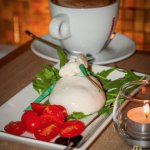 Chef's specials, every week! - burrata mozzarella on picture
