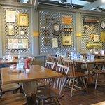Large inside dining area
