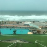 Nice Indian Ocean view from the Hotel Room