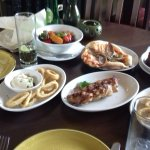 small selection of the italian tapas dishes