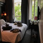 Spectacular stay at the Hotel Observatiore Luxembourg!  Welcoming staff, sound proof windows, an