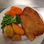 Lamb shanks, senior schnitzel and seniors roast pork great value meals