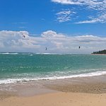 Hmmm, yes.!  Awesome, I want to kiteboard it!