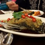 Ginger chilie Fish