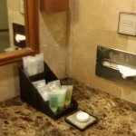 Amenities replenished daily
