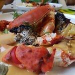 lobster with linguine