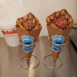Bubble Waffles in Cone