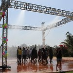Rain Dance for Corporate Event